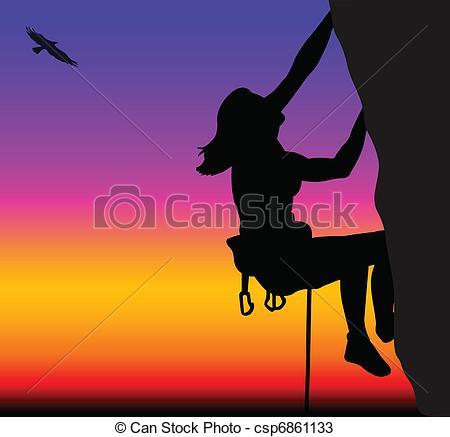 Woman clipart climber Climbing climbing Search Rock woman