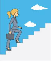 Woman clipart climbing stair Climbing Lady climbing clipart Cliparts