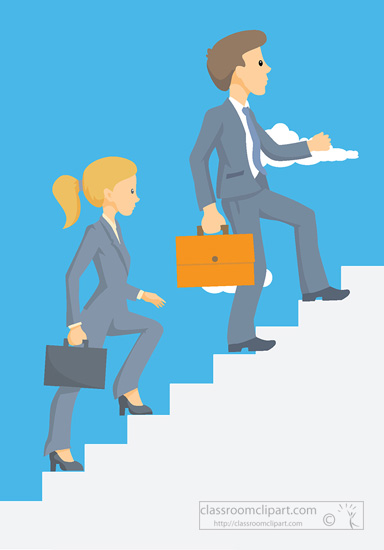 Woman clipart climbing stair Stairs up man climbing Search