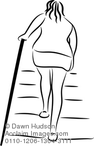 Woman clipart climbing stair Drawing Line Illustration Climbing Simple