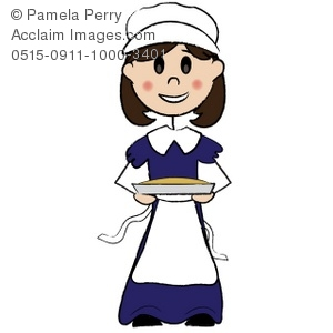Woman clipart colonist Stock colonial & & clipart