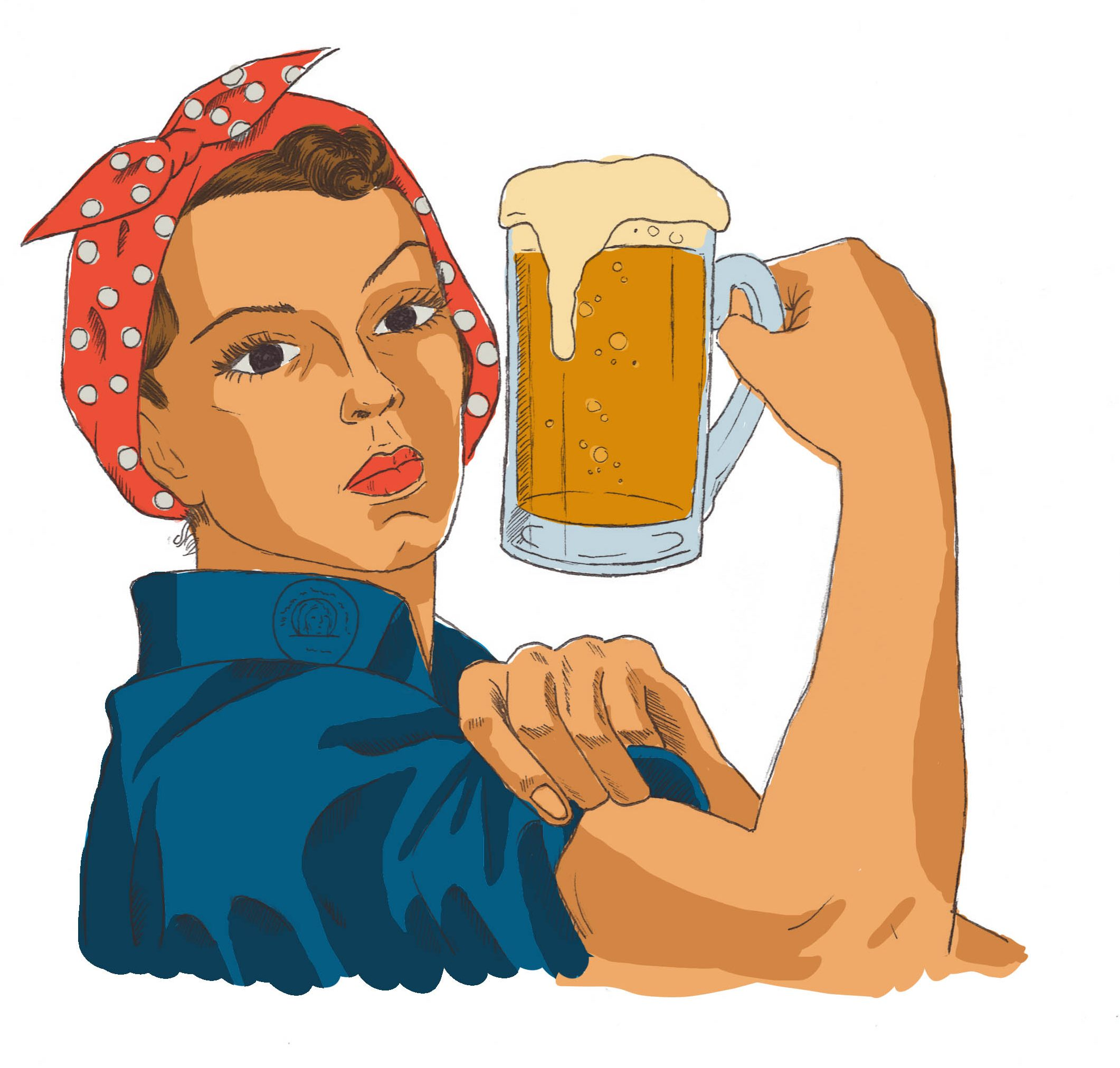 Women clipart drinking alcohol #10