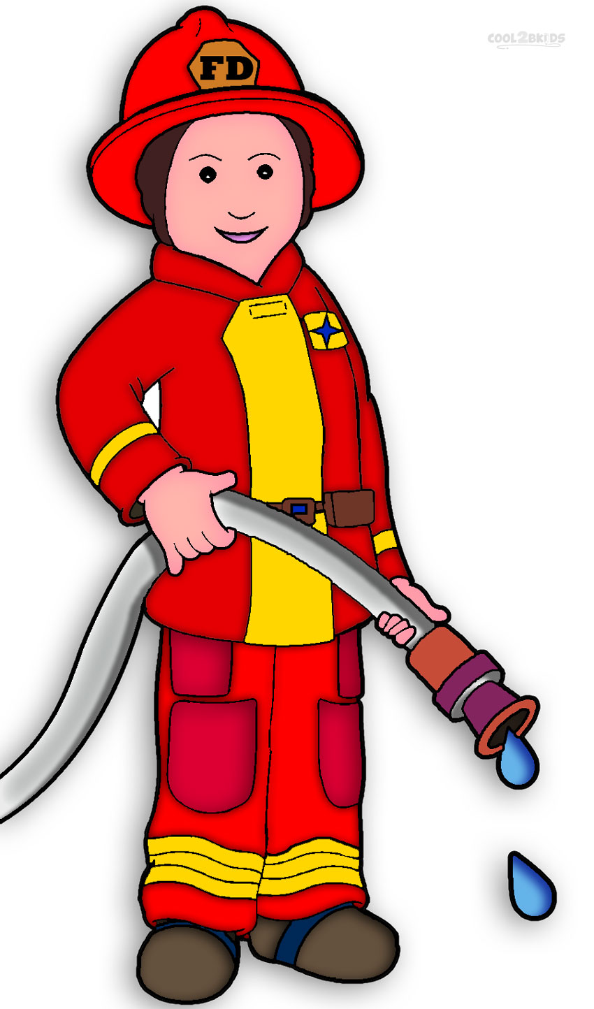 Chick clipart fighter  Clipart Firefighter Face Art