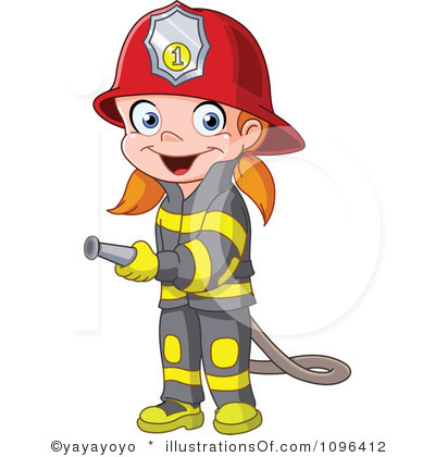 Chick clipart fighter Firefighter Girl Firefighter Clipart cliparts