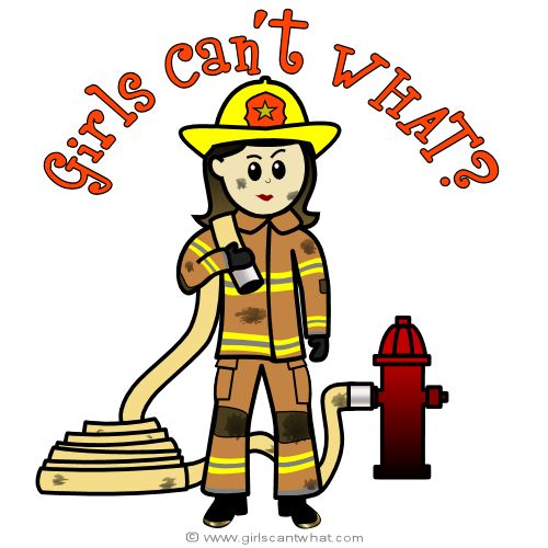 Woman clipart fire fighter & Personalized Gifts Female Sayings