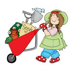 Women clipart gardener For Pinterest on Garden clipart