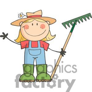 Women clipart gardener #5