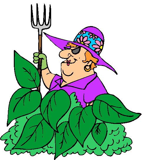 Women clipart gardener #9