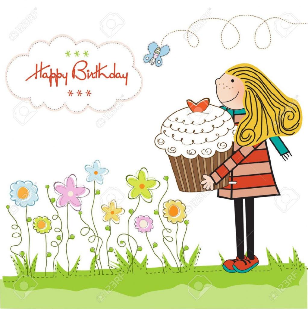 Women clipart happy birthday Happy Birthday Happy Woman for