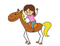 Woman clipart horseback riding Horse Clipart Woman and Clip