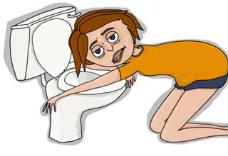 Women clipart hungover People