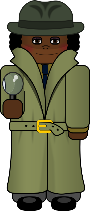 Mystery clipart female detective Detective Images Animation detective%20clipart Clipart