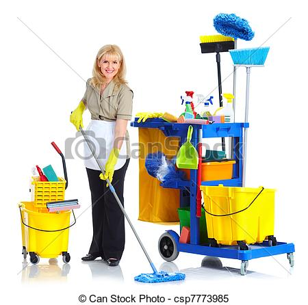 Women clipart janitor Woman woman Cleaner  Cleaner