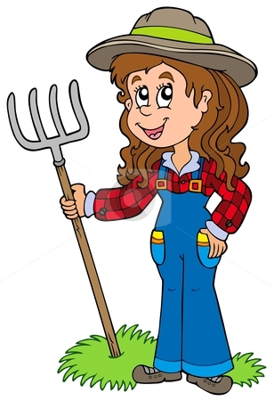 Woman clipart kid Clipart clipart farmer kid kid