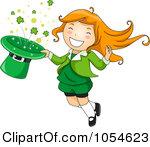Women clipart leprechaun Girl Cute Leprechaun  Clipart