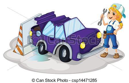 Women clipart mechanic #6