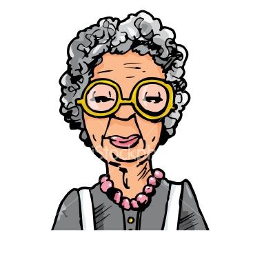Woman clipart old age Clip on Free Cartoon Cartoon