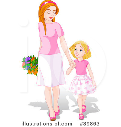 Women clipart only mother #8