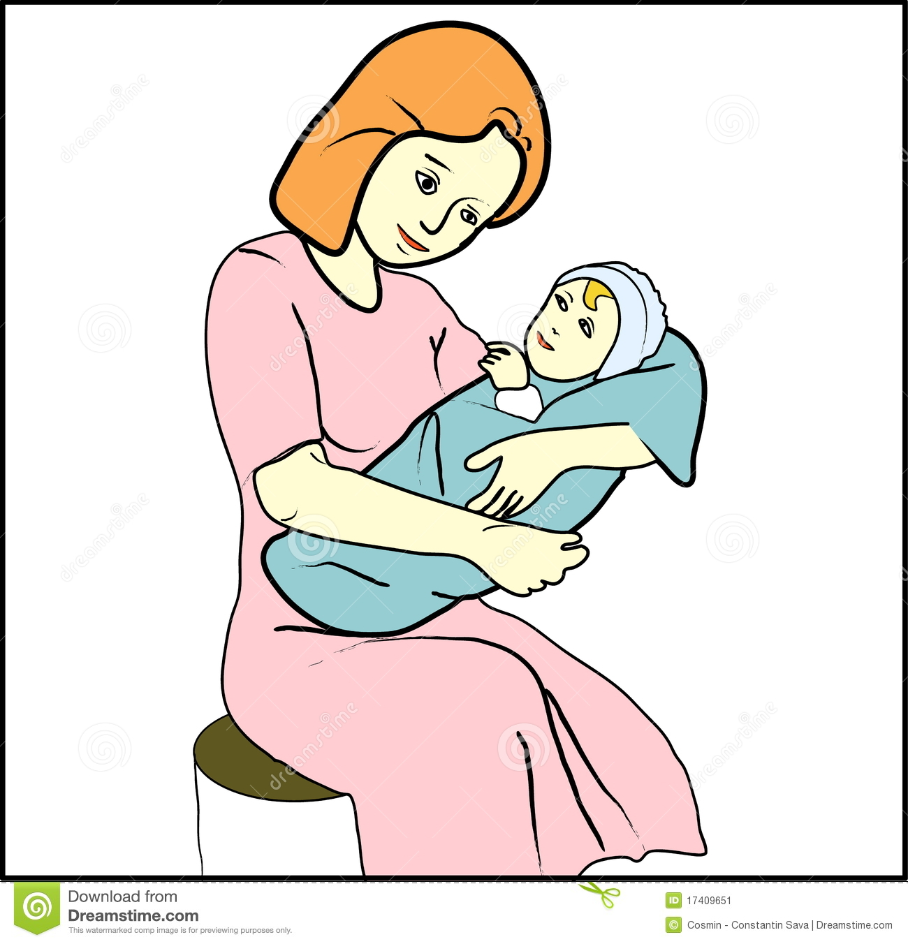 Women clipart only mother #9