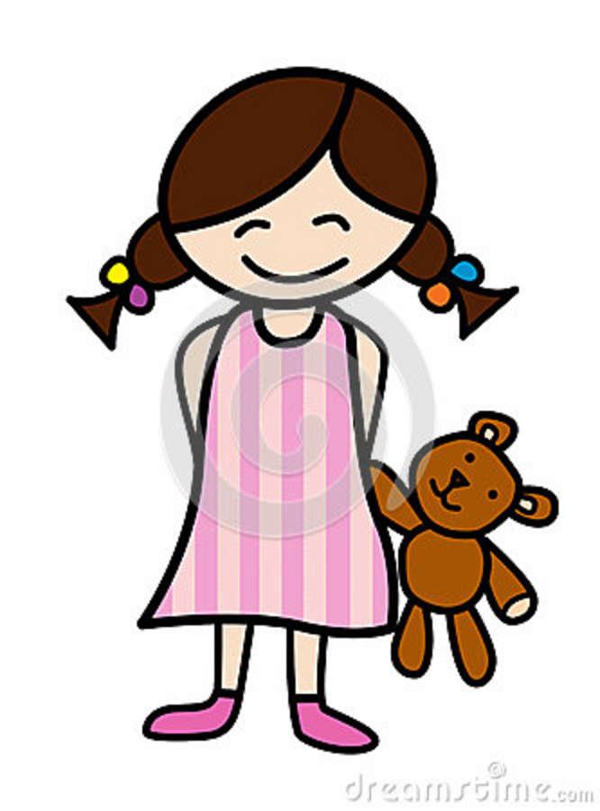 Teddy clipart pajama party #2