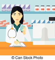Woman clipart pharmacist Notes Pharmacist woman of Clip