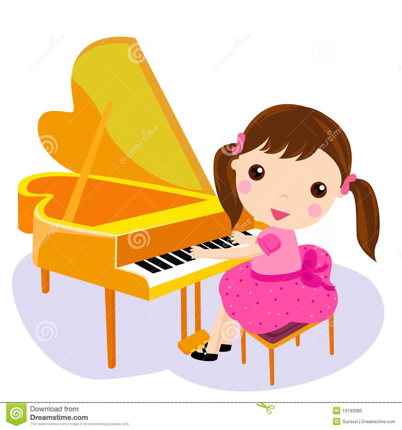 Women clipart pianist Art girl clip art playing