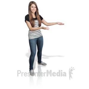 Women clipart presenter Animations Presenting Presentation Media ID#