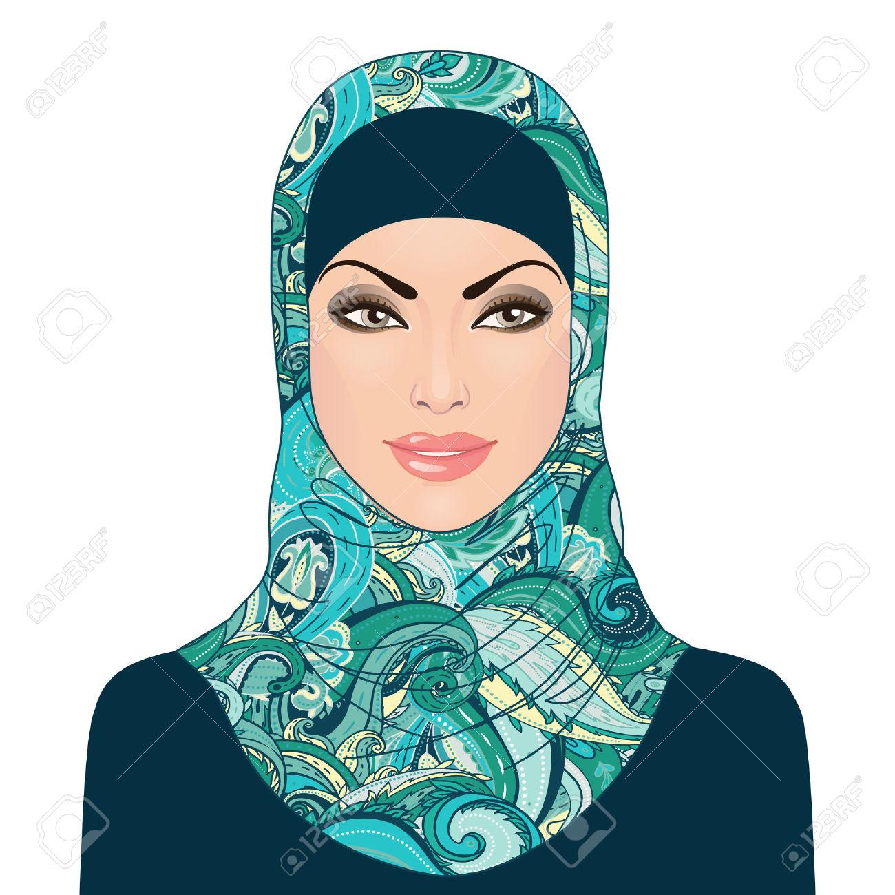 Women clipart pretty lady Woman Clipart Download Hijab Beautiful