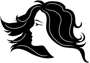 Woman clipart profile Side Female Clipart women Clipart