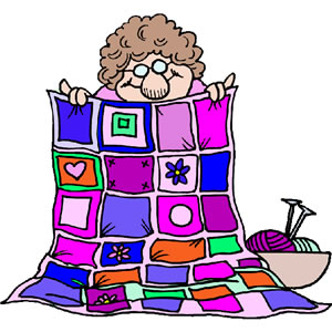 Woman clipart quilting Women  Clipart Quilting