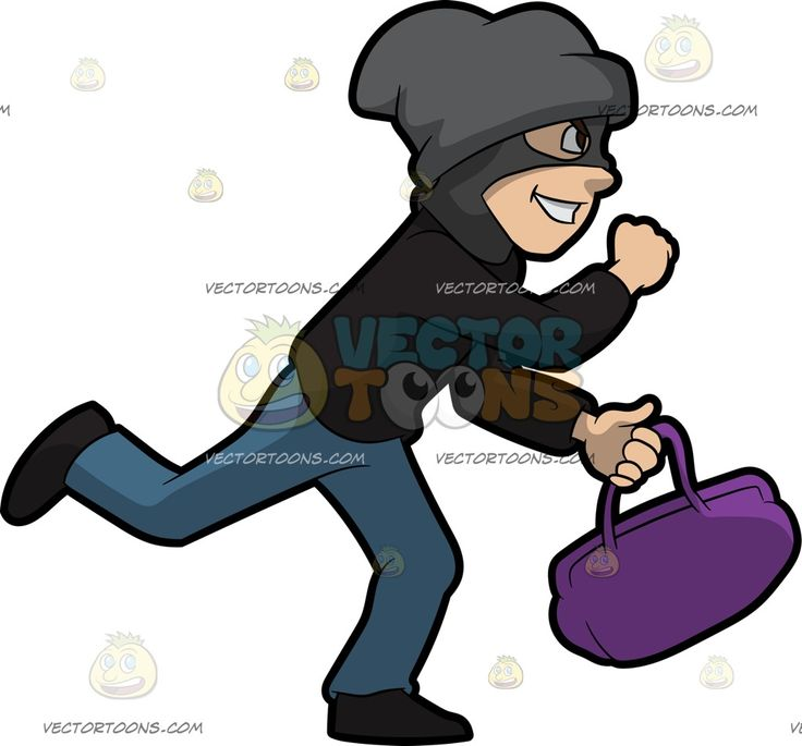 Women clipart robber With ideas Cartoon Robber Clipart