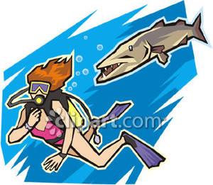 Woman clipart scuba diver Scuba Scuba Diver Diver Female