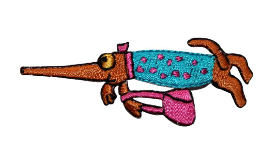 Woman clipart shrew Applique with Iron and Dress