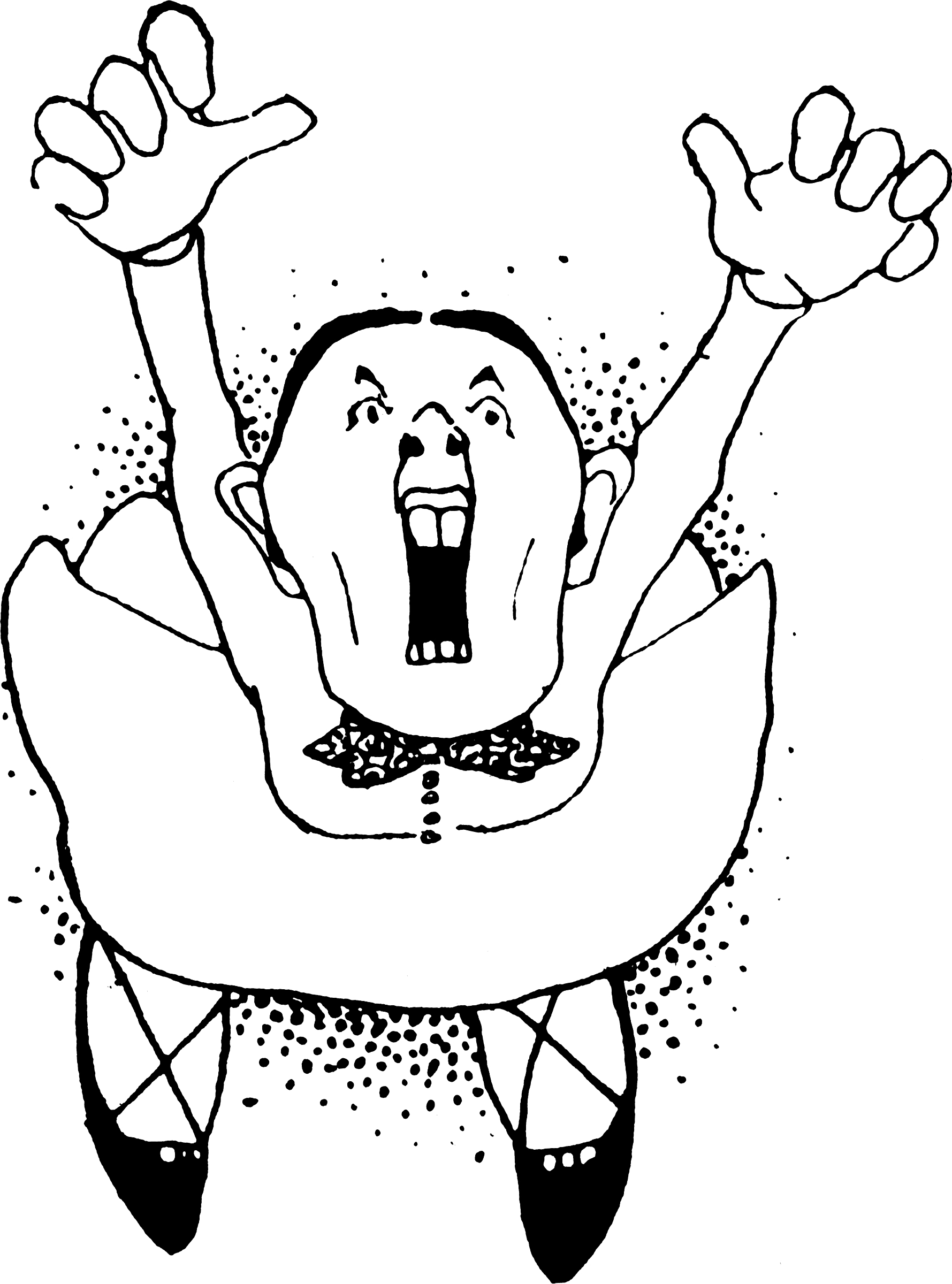 Women clipart shrew Woman Screeching Deranged Woman Grotesque