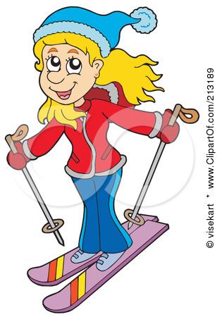 Woman clipart skiing Download Skiing Skiing Girl Clipart