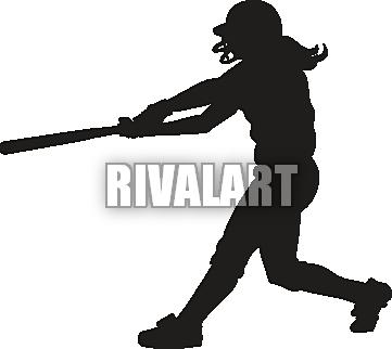 Shadow clipart softball #2