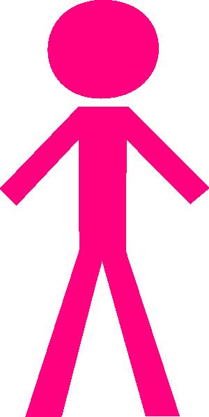Women clipart stick figure Clker vector Stick at