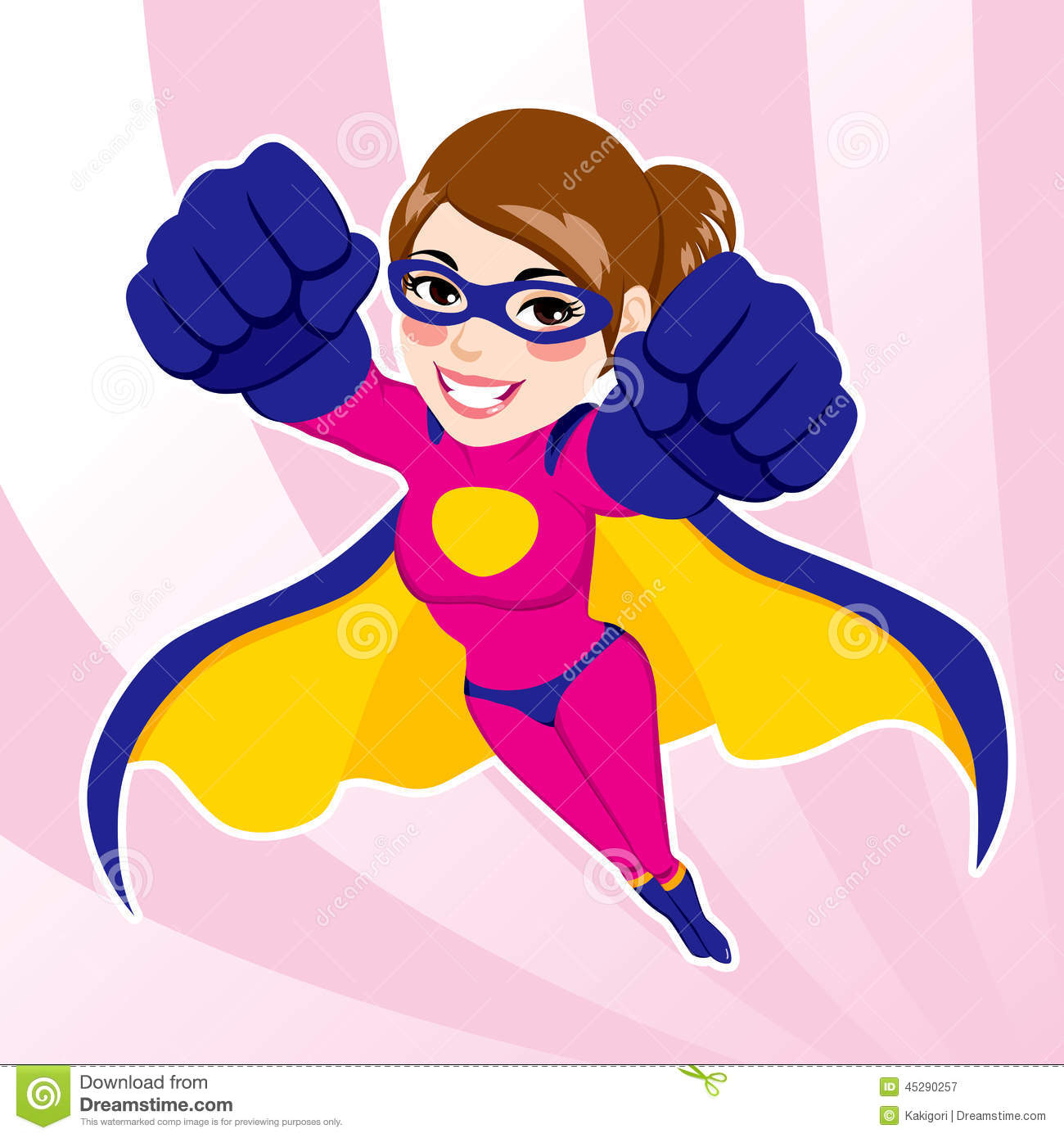 Pink clipart superhero Female superhero Google Search Woman