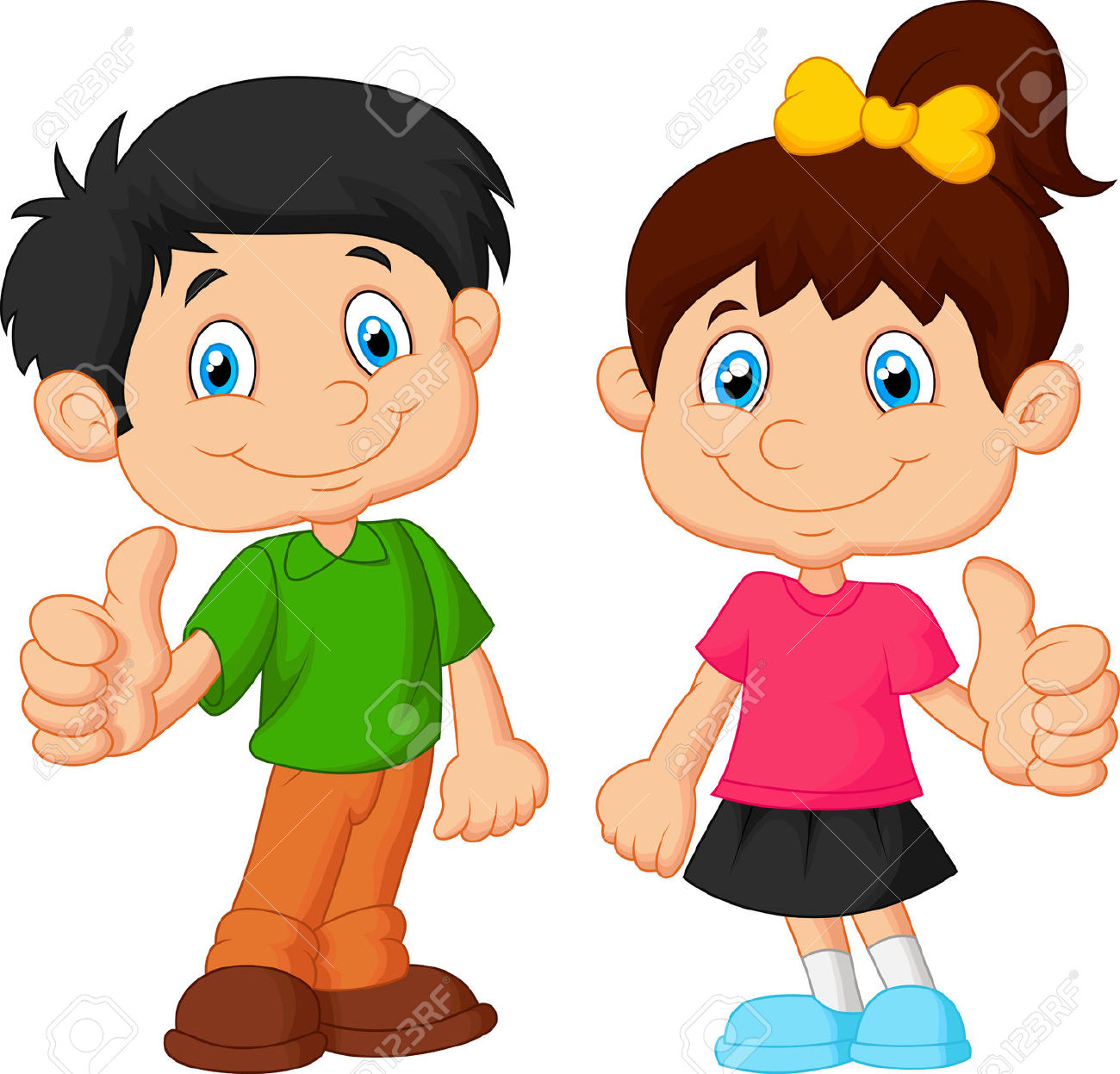 Boy clipart thumbs up Thumbs woman Girl up clipart