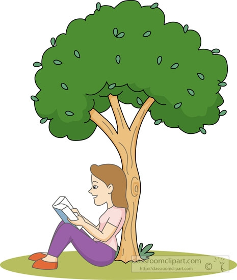 Woman clipart tree Clipart Reading Download Art Woman