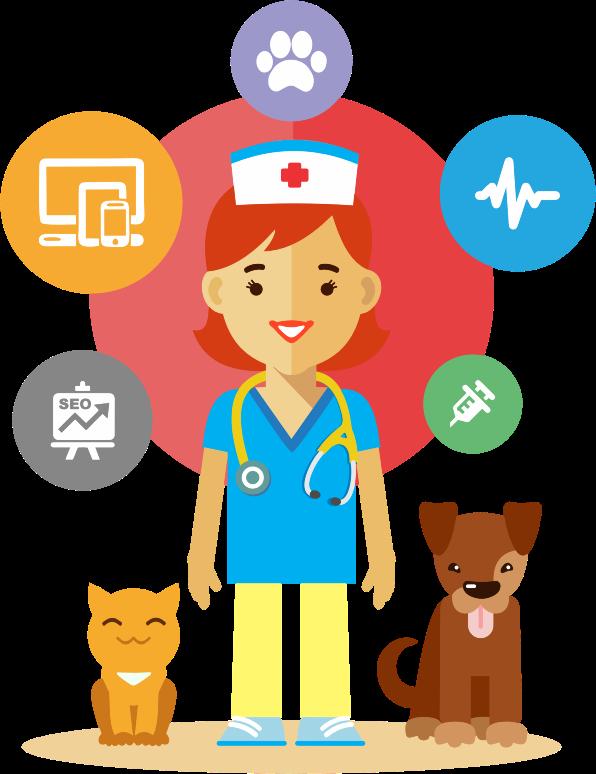Pet clipart animal hospital Veterinarian MEDIUM Clipart IMAGE (PNG)