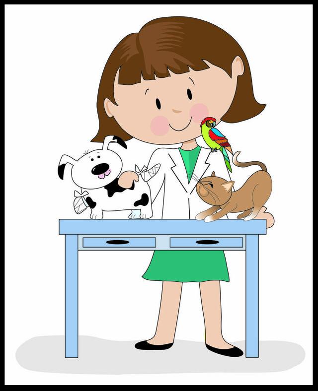Woman clipart veterinarian Veterinarian Clipart Cliparts Vuqie7 Co
