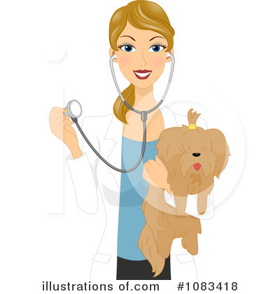 Woman clipart veterinarian Veterinarian BNP Royalty Studio Design
