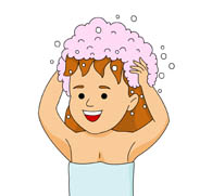 Women clipart washing hair Size: Clipart Clip Pictures suds