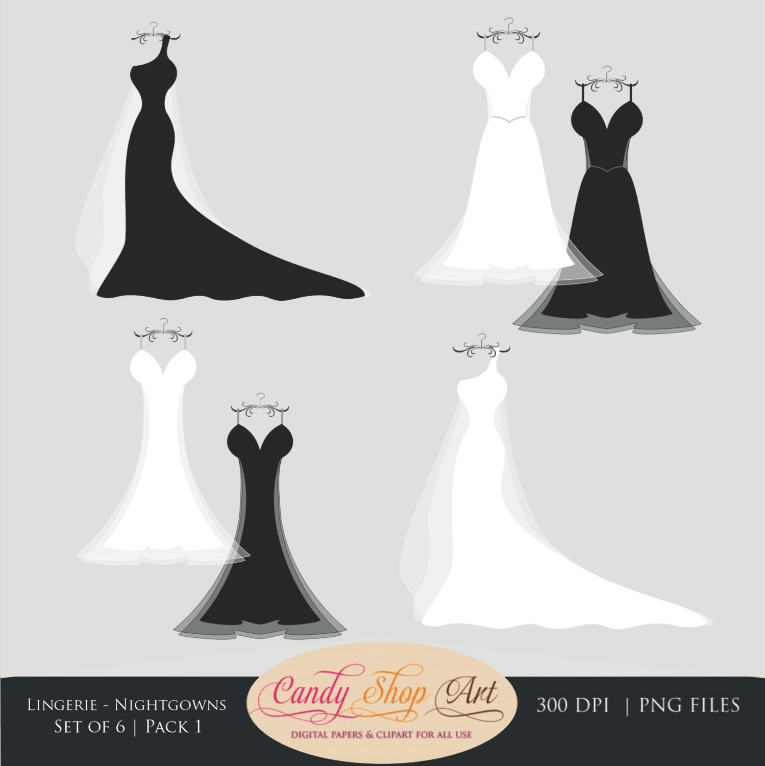 Bride clipart formal wear Clip Like this Instant Download