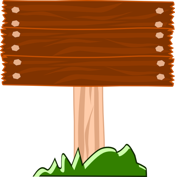 Wood clipart lumberjack At & Sign Wood Clker