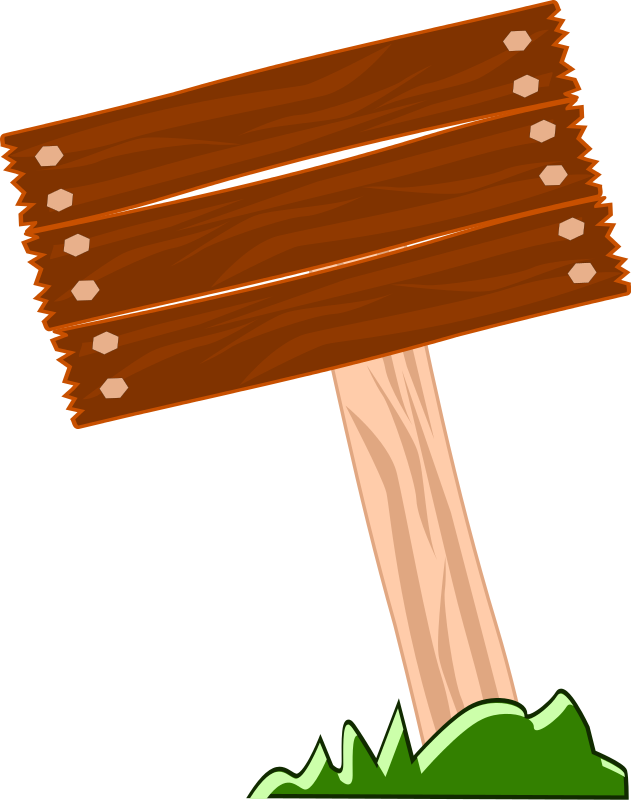 Wood clipart blank Art Download clipart sign camp
