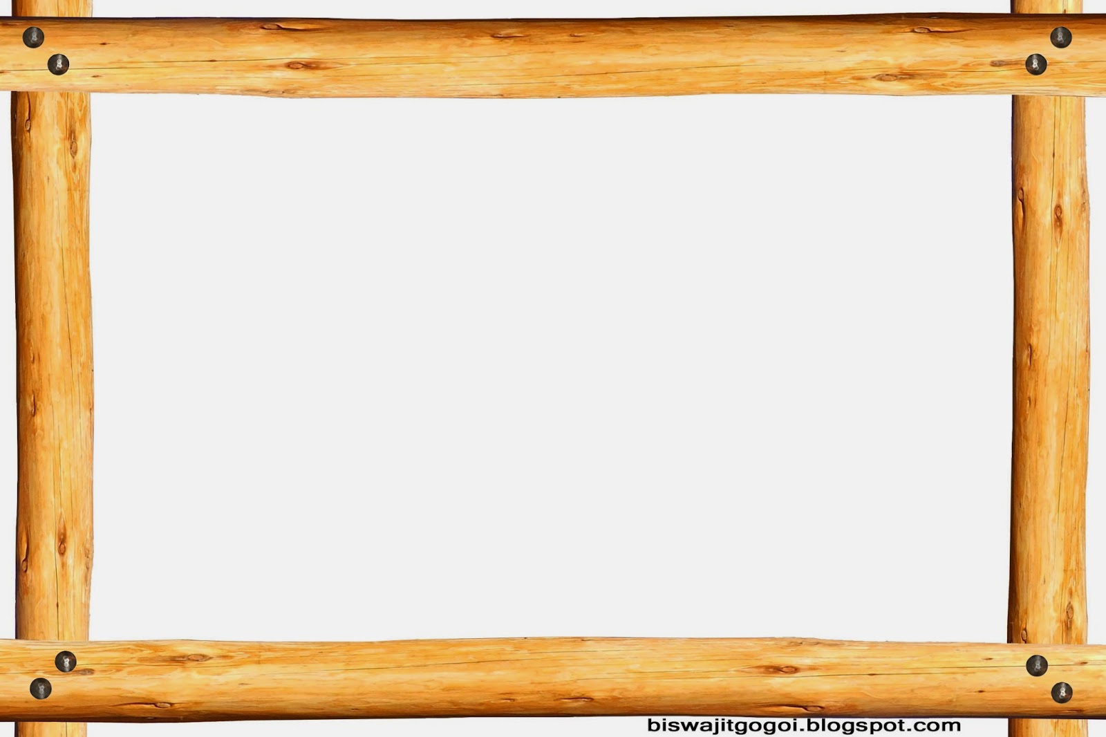 Wood clipart frameborder Collection cliparts border Log Clipart