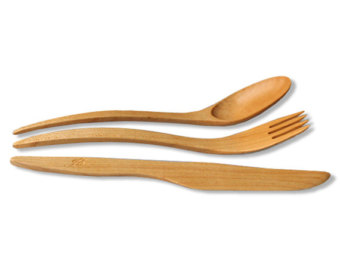 Wood clipart fork Maple utensils 1 Etsy cutlery