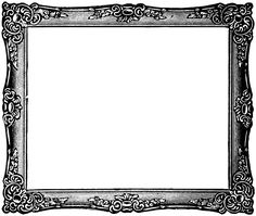 Wood clipart frameborder Clip white Vintage white black